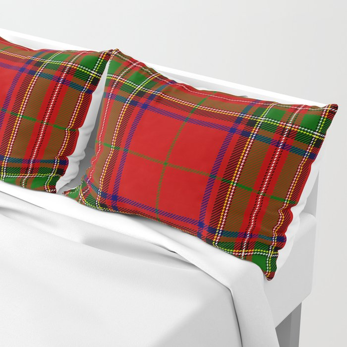Red Tartan Plaid Kissenbezug
