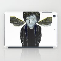 vonnegut iPad Cases featuring Kurt Vonnegut Jr Oil Painting by Tony King  by Tony King - Beautifully Mad