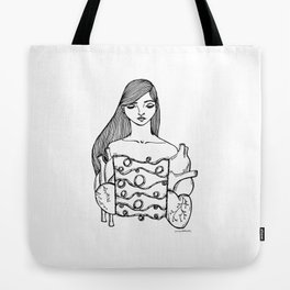 Matters of the heart Tote Bag