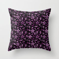 Colorful Lovely Pattern XVV Throw Pillow