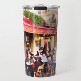 Paris Café Travel Mug