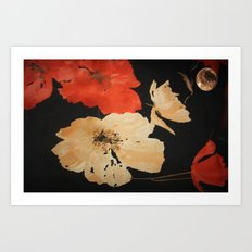 A TOUCH OF JAPAN Art Print