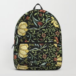 William Morris Gardens Thistle Heads Backpack