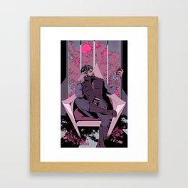 corvo the black Framed Art Print