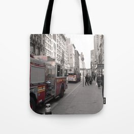 NYC fdny Tote Bag