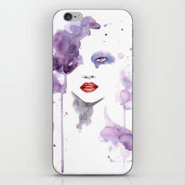 Red Eyes Red Lips two iPhone Skin