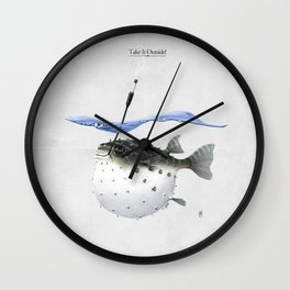 Take It Outside! Wall Clock