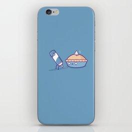 Cream pie iPhone Skin