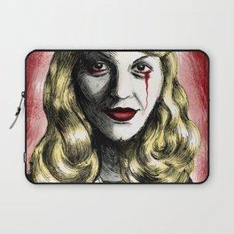 Sylvia Plath_Blood Red Laptop Sleeve