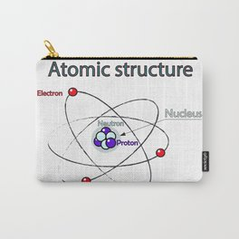 Atomic structure Carry-All Pouch