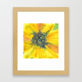 Joyful Bloom Framed Art Print