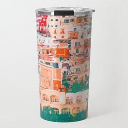 Positano, beauty of Italy Travel Mug