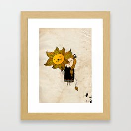 Leo Girl Framed Art Print
