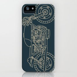 Cafe Racer 4 iPhone Case