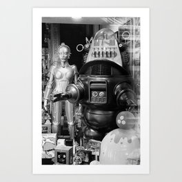 The Robots Art Print
