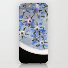 Borage Flowers iPhone 6s Slim Case