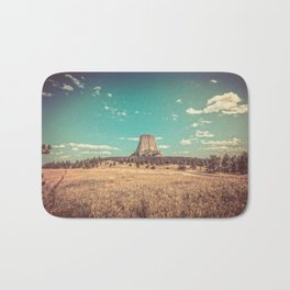 Devil's Tower National Monument Wyoming Bath Mat