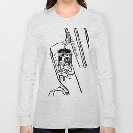Verre sur chaise Long Sleeve T-shirt