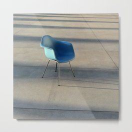 Museum Chair Metal Print