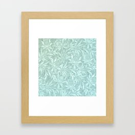 Icy Cold Outside Framed Art Print