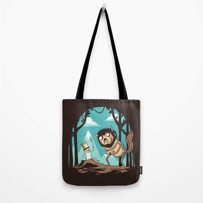 Where the Wild Adventures Are Tote Bag