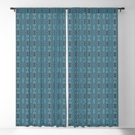 Blue Waters Blackout Curtain
