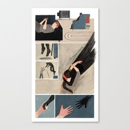 Stealing Time Canvas Print