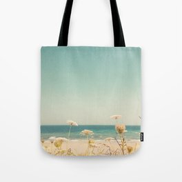 Water and Lace Tote Bag