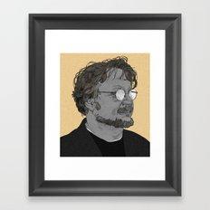 Guillermo del Toro Framed Art Print