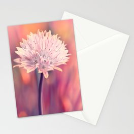 Chive blossom Stationery Cards