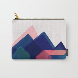 Houses abstract Carry-All Pouch