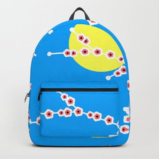 Trees in bloom Backpack