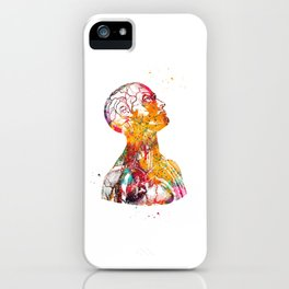 Head And Torso iPhone Case