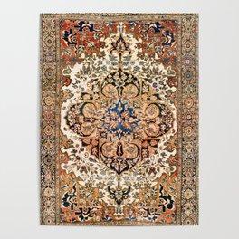 Ferahan Arak  Antique West Persian Rug Print Poster