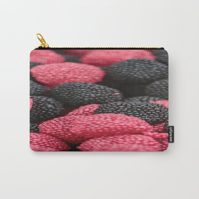 Black Berry Carry-All Pouch