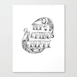 My Aching Heart Canvas Print