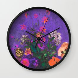 Tribute to summer Wall Clock