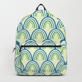 Semicircel Illustration Backpack