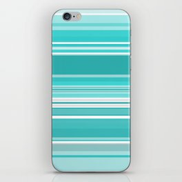 Gradient blue iPhone Skin
