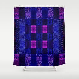 Quilt Square - MMB Shower Curtain