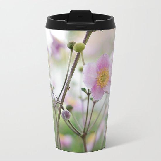 Beauty Annemone Metal Travel Mug