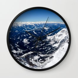 Infinite Blueness Wall Clock