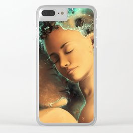Be castaway into your arms Clear iPhone Case