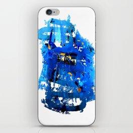 Blue Emotion iPhone Skin