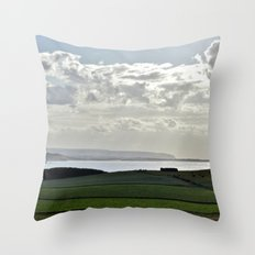 Wait Till You See the Neighbors Throw Pillow