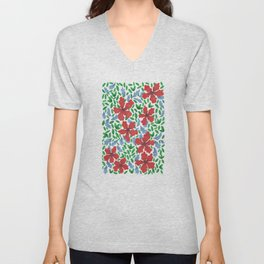 Stop to look Unisex V-Neck