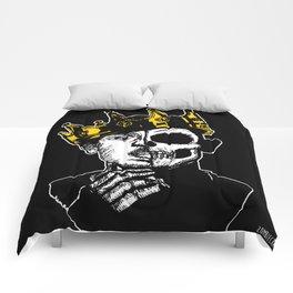 King Kendrick by zombieCraig Comforters