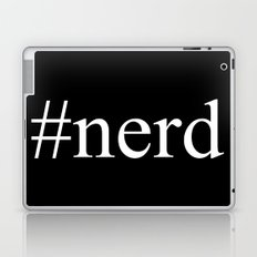 nerd     Hashtag Series  Laptop & iPad Skin