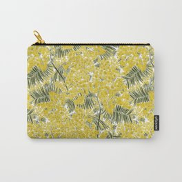 Yellow Mimosa Carry-All Pouch