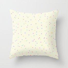 ADALYN ((confetti cake)) Throw Pillow